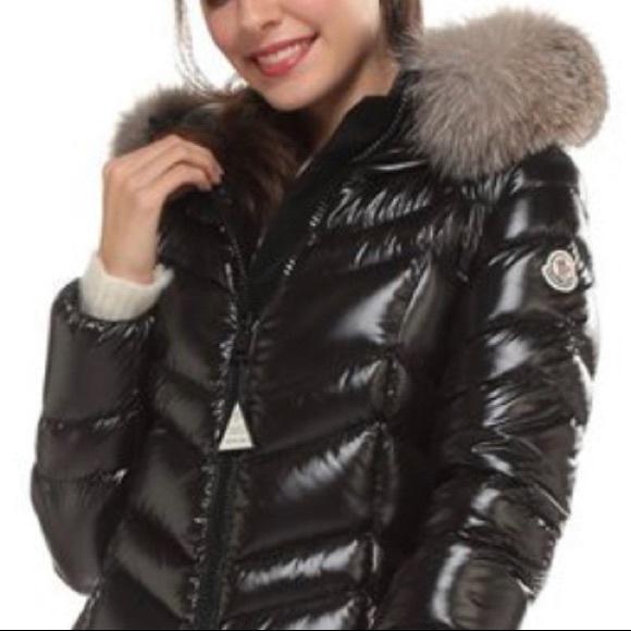 Moncler Fulmar Coat. Black Size 00